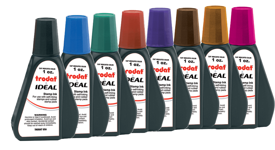 Trodat (Ideal) Ink 1 oz (6cc) bottle