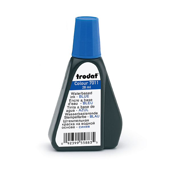 Blue 1oz Refill Ink - Self Inking