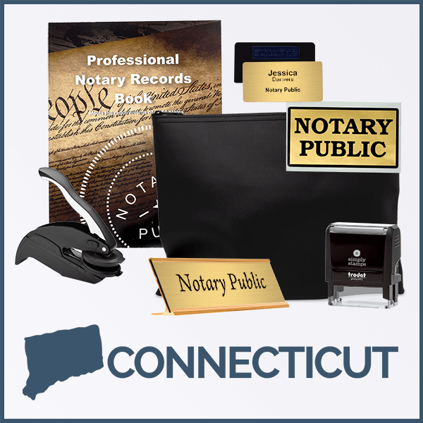 Connecticut Deluxe Notary Kit