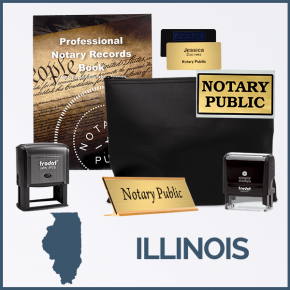 Illinois Deluxe Notary Kit