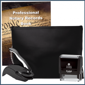 Massachusetts Common Notary Kit