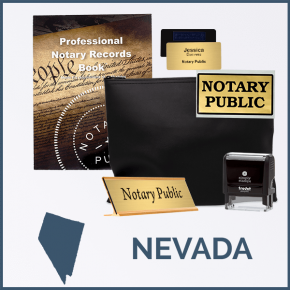 Nevada Deluxe Notary Kit