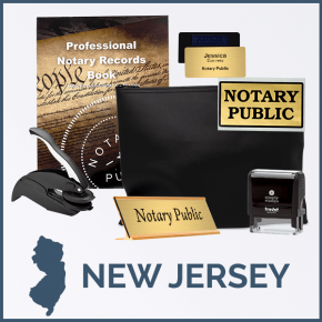 New Jersey Deluxe Notary Kit