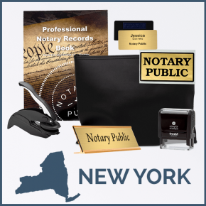 New York Deluxe Notary Kit