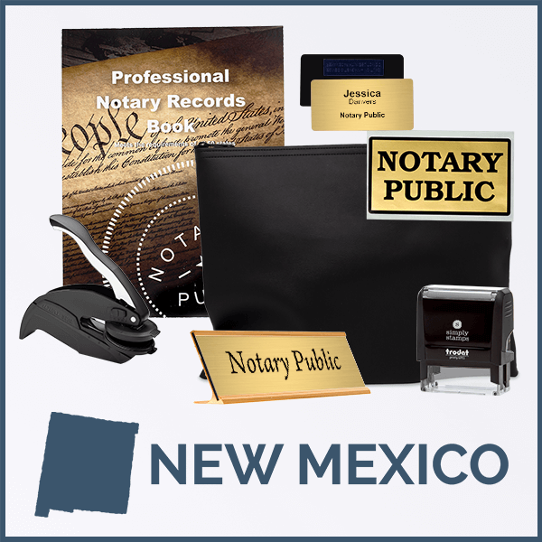 New Mexico Deluxe Notary Kit
