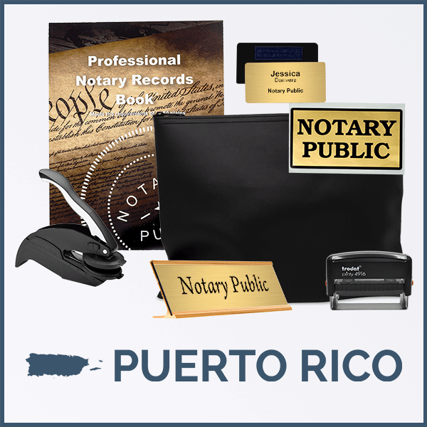Puerto Rico Deluxe Notary Kit