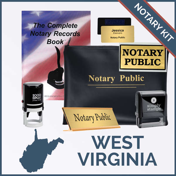 West Virginia Deluxe Notary Kit