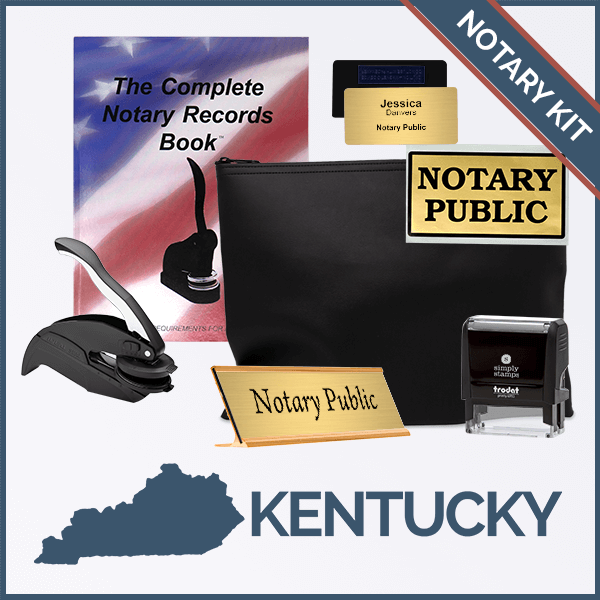 Kentucky Deluxe Notary Kit