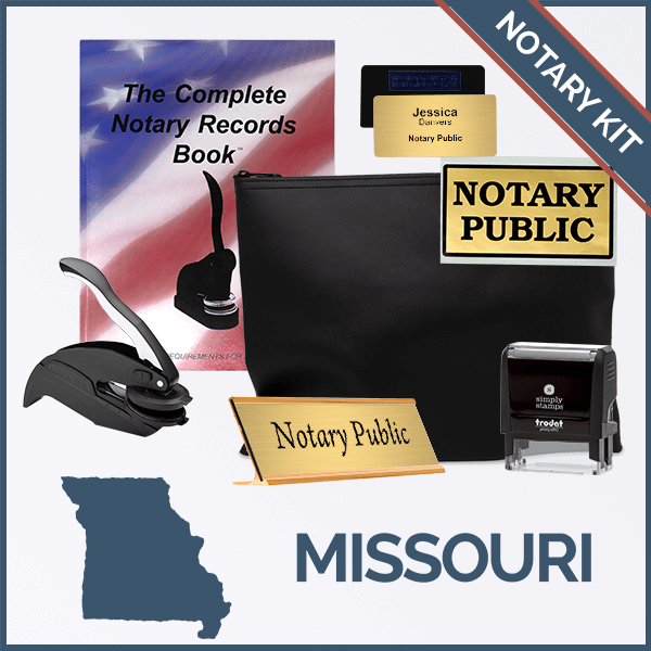 Missouri Deluxe Notary Kit