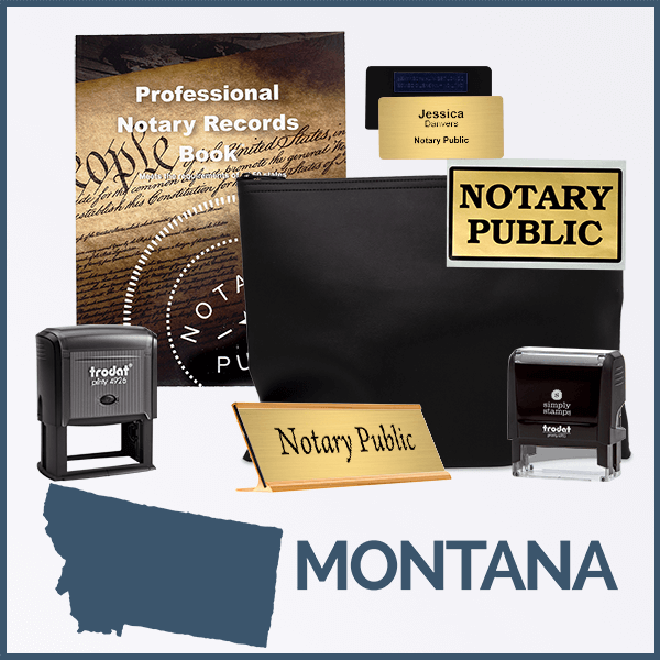 Montana Deluxe Notary Kit