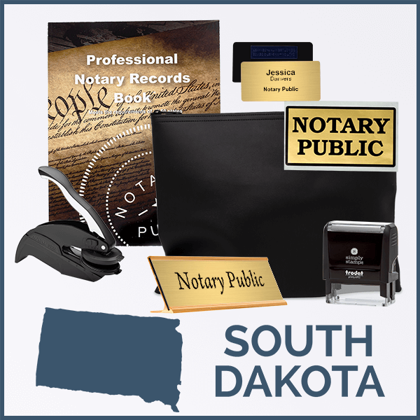 South Dakota Deluxe Notary Kit
