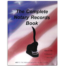 Notary Records Journal
